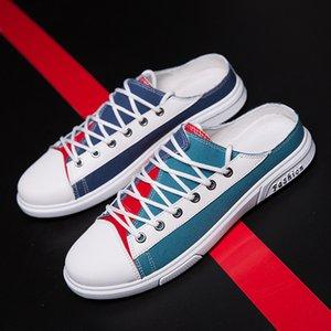 Estate divieto Tuo Xie-stile coreano traspirante scarpe di tela moda casual versatili UOMO SCARPE scarpe alla moda
