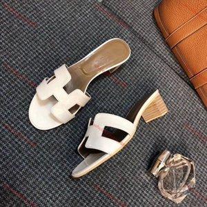 Hermes sandals xshfbcl 2020 Paris Marke Flats Sandalen Staubbeutel-Qualitäts-Hausschuhe Designer Schuhe Loafers Mode Flip Flops Stiefel-Turnschuhe