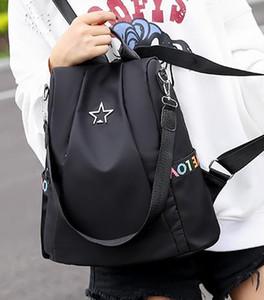 Sac à dos femmes 2020 nouvelle mode nouvelle version Trendy Tissu Oxford Toile seule épaule à double usage Voyage sac à dos Meilleures ventes