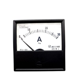 Japan FUJI FS-60 AC ammeter 30A pointer mechanical head