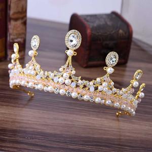 Ladies Delicate Shining Rhinestone Hair Jewelry Ragazze Party Princess Accessori per capelli Moda donna coreano diademi copricapo