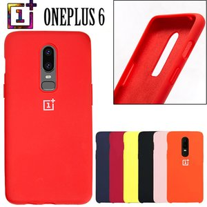 Oneplus 6 Back Case Cover One Plus 6t Soft Liquid Silicon Phone Case With Full Protective Funda 1+6 Phone Shockproof Cases