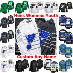 2020 All-Star St. Louis Blues Jersey Marco Scandella Vladimir Tarasenko Ryan O'Reilly Binnington Alex Pietrangelo Hockey Maillots Hommes personnalisés