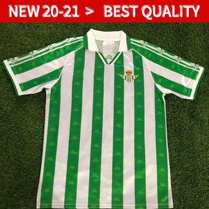 Les maillots de football du Real Betis 95 97 Real Betis match Worn Menendez 3 Finidi 25 RIOS 21 Finidi 11 maillots de football maillot de foot