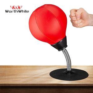 Pena Stress Relief PU desktop Bola Boxe Brigar velocidade Reflex Formação perfurador Bola de Muay Tai MMA Exercício Sports Equipment T191230