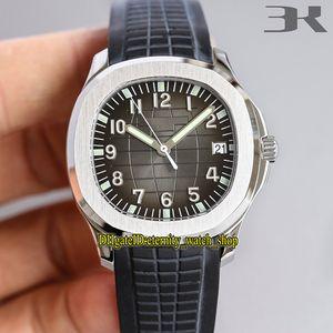 3K forte versione Aquanaut 5167A-001 Gradient Dial orologi reale Cal.324C meccanico automatico 5167A Mens Watch Sapphire Designer acciaio