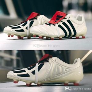 2019 zapatos Predator Mania Champagne FG Botines de fútbol de los nuevos hombres para hombre de la alta calidad de las botas de fútbol Deporte fútbol al aire tamaño de arranque zapatillas de deporte 39-45