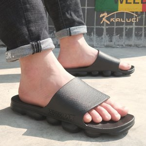 2020 individual slippers fashion Cross-border casual flip-flops non-slip flip-flops outdoor men's slippers