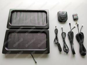 Support automatique de plaque d'immatriculation de voiture automatique / voiture en métal, couverture de confidentialité, cadre caché invisible de plaque minéralogique 315 * 170 * 25.8mm