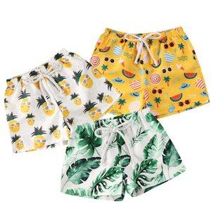 Children Boys Casual Cartoon Print Swimwear Bathing Suit Baby Boys Summer Beach Short Kids Swimming Holiday Beachwear 0-4Y