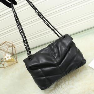 Pamuk Manyetik toka çanta çanta zarf çanta zincir crossbody torba tek omuz haberci torba yenilemek LAMBSKIN Klasik V şeklinde