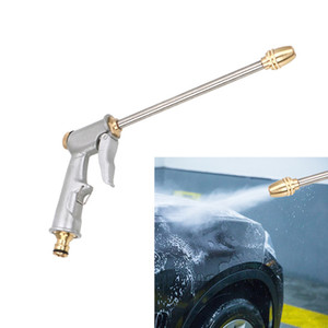 Cheap Neve Schiuma Lance Rondella ad alta pressione pistola di acqua di pulizia dell'automobile Wash Spray metallo Water Gun Silver Power Garden