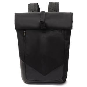 حقيبة مراهق حقيبة الرجال المرأة حقيبة عارضة التخييم الطلاب الكبار حقائب الظهر للماء السفر في الهواء الطلق أكياس الكمبيوتر المحمول الأسود