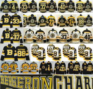 2020 Boston Bruins Hockey Ice 4 Bobby Orr Zdeno Chara 37 Patrice 46 Krejci David 88 Pastrnak 40 Tuukka Rask Men Enfants Jerseys