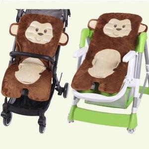 Высокое качество Зимняя теплая прогулочная коляска младенца Подушка сгущает Comtable Детский Подушка Корзина сиденья мягкая коляска Pad Pushchair прогулочная коляска Mat