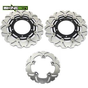 BIKINGBOY Front Rear Brake Discs Disks Rotors GSF 650 1250 Bandit   S ABS 07 08 09 GSX 650 F GSR 400 600 750   ABS GSX 1250 FA
