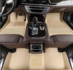 Lujo 3D Custom Car piso Cayman 2013-2016 estera del piso del coche tapetes para no tóxico y sin olor