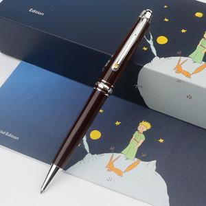 Classique Monte Pens Le Petit Prince Meisterstcek stylos à bille Brown résine avec MB Numéro de série, Hommes MB Blance Cufflinks Livraison gratuite