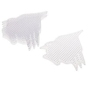 1 Packung 5pcs / 10er Bildung Spielzeug Fuse Beads Pegboard Perler Beads Halter Tiere Vorlage