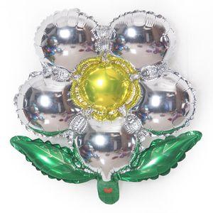 2,019 연습장 알루미늄 호일 꽃 풍선 화려한 장식 다섯 디스크 꽃 풍선 baloon입니다 웨딩 파티 장식 공기 풍선 장난감