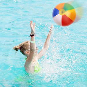 3 sizes Fun Kids Toys Colorful Inflatable Ball Balloons Swimming Pool Play Party Water Game Beach Sport Balls Toys For Children