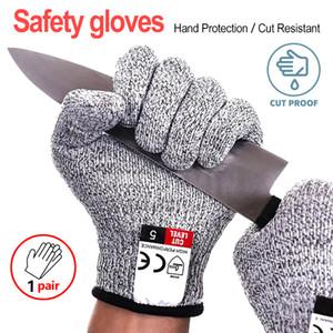 Anti Cut Handschuhe Cut Proof stichsichere Edelstahl-Draht Metal Mesh Küche Butcher Cut-Schutzhandschuhe
