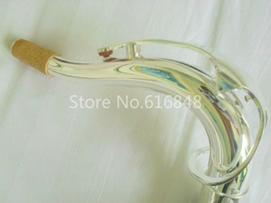 Matériel En Laiton Argent Plaqué Saxophone Tenor Cou Cou Cou Pour Bb Saxophone Tenor Nouvel Instrument Instrument de Musique Accessoires 27.5mm