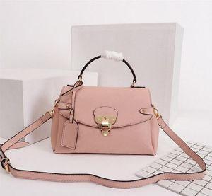 M53942 Original GEORGES BB Bag Designer Handbags One Handle Tote Women Brand Embossed Metal Lock Real Leather Luxury Shoulder Bags 53942