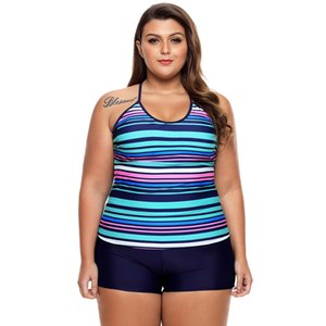 Pallone Bikini arcobaleno strisce sexy Strappy V-collo alta vita dei pantaloni due pezzi Swimsuit Swimsuit 410.246