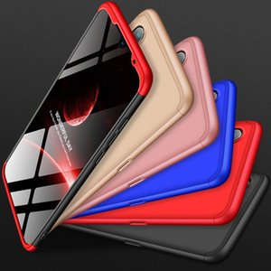 360 Degree Ultra Thin Back Case Cover GKK Three Stage Splicing Full Coverage PC Case for Xiaomi 9