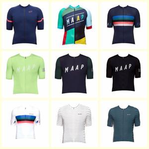 MAAP Team Cycling Courtes manches courtes Jersey Nouveau Vêtements Été Hommes Bike Chemises Ropa Ciclismo rapide VTT à vélo Vélo Vélo HEUX U73027