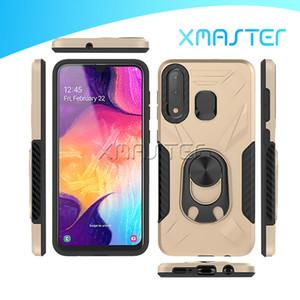 Creative-Hybrid Rüstung Telefon-Kasten für iPhone 11 Pro Max Samsung S20 Anmerkung 10 Plus-A80 A70 A50 A10 Neuer Entwurfs-Abdeckung Hinterbauständer