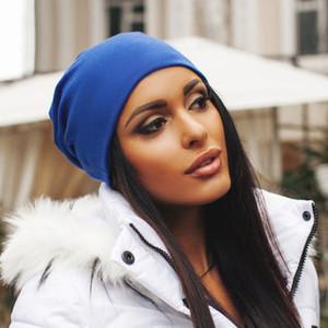 Beiläufige neue Art und Weise Unisex Damen Herren Knit-Winter-warmer Ski Crochet Slouch Hip-Hop-Hut-Kappe Beanie Aufmaß Grau Blau Beige