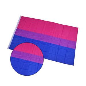 Bisexual Flag 3x5ft 90x150cm Custom Style Printed Flag Banner Neue Polyester Fliegen Hanging für Werbung Party-Aktivität