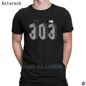 Tb 303 T-shirt Grand tops personnalité T-shirt graphique pour les hommes 2018 coton normal Anlarach streetwear