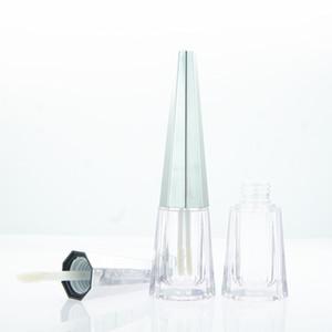 5pcs 7ML cónico Poliedro diseño especial Lip Glaze Tubo botella vacía de maquillaje de bricolaje casero brillo de labios envasado de material del envase