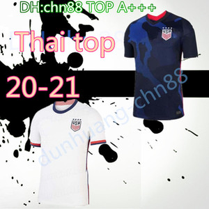 4 stelle 2020 2021 USA PULISIC maglia da calcio 20 21 DEMPSEY Morgan Rapinoe LLOYD Ertz dell'America uomo bambini calcio camicie Stati Uniti S-XXL