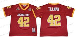 NCAA 1997 Rose Bowl 42 Pat Tillman Uomini Arizona State Sun Devis Collegio maglie Pat Tillman College Football Jersey Size S-XXXL