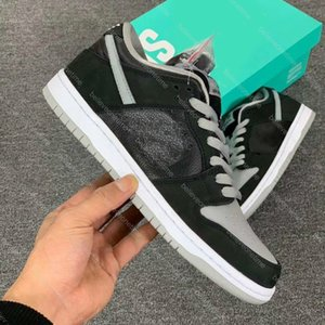 Best Quality Dunk SB Low J-Pack Shadow BQ6817-007 Black Grey Skateboard Shoes Plum Chunky Dunky Laser Orange Muslin Men Sneakers With box