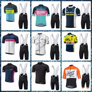 2020 Morvelo nuevo estilo de verano Culotte corto de ciclo de secado rápido mangas jersey de conjuntos transpirables MTB P62260 sportwear