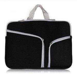 Тонкий защитный чехол для ноутбука на молнии Сумка Sleeve Чехол сумка для Macbook Air Pro Retina 12 13 15 дюймов хранения сумка Сумки Прочный