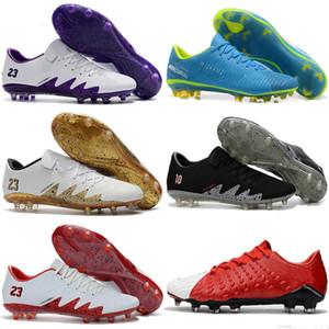 erkekler otantik futbol botlar için yeni futbol krampon Hypervenom Phantom 3 III FG düşük üst neymar botlar ucuz futbol ayakkabıları yeni mens