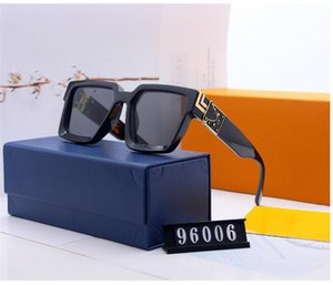 2020 Latest hot fashion men's and women's NO BOX designer sunglasses 0937 square metal plate combination frame high quality UV400 with frame