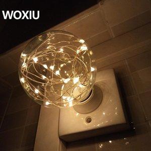 Woxiu Led rame Bulbi, Luce natalizia, Vacanze Retro Nordic Lights illuminazione creativa per il compleanno di nozze decorazione del partito