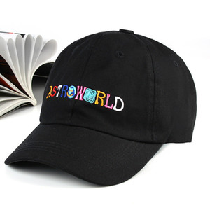 Scotts neuestes Album ASTROWORLD Papa Hut 100% Baumwolle Hochwertige Stickereien Astroworld Baseball Caps Unisex Travis Scott