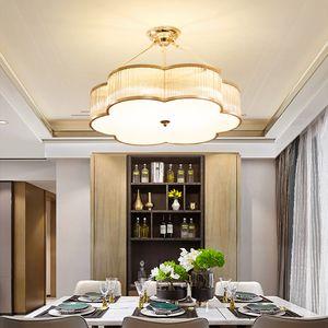 Yeni tasarım lüks, modern fantezi cam avize aydınlatma altın bulut şekli avizeler ışıklar led kolye oda yatak odası dinning için lambalar