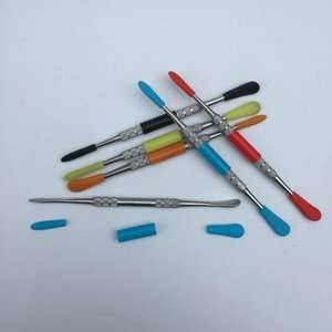 Outil dab Wax dabber vax atomiseur titane outil de dabber à ongles pour la cire de stylo vape d'herbe sèche atomiseur outils dabing