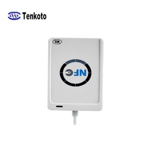 USB sem contato RFID Reader Reading IC inteligente sem contato Card Reader NFC escritor de Controle de Acesso