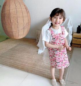 Nouvelle mode filles Salopette robe d'été Nourrissons Vêtements de bébé Enfants Enfants Filles Robes
