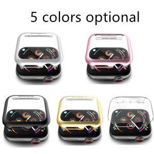 Qualitäts-PC-Schutzhülle für Apple Iwatch 1 2 3 4 5 Serie 38mm / 42mm 40mm / 44mm fünf Farben Optional